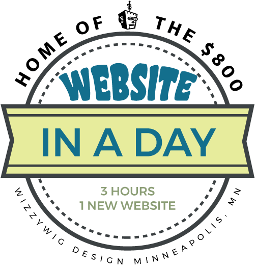 Home of the $800 Website In A Day